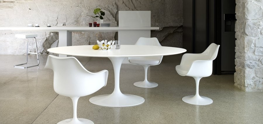 Saarinen Chair Decorating Ideas