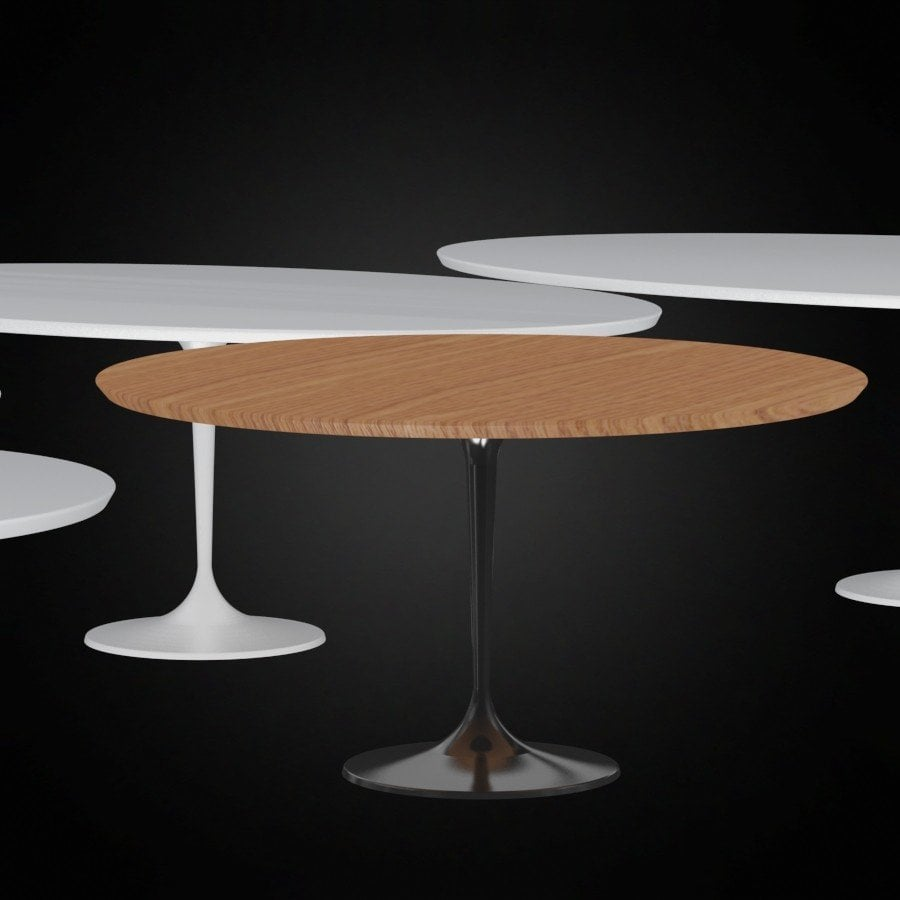 Saarinen Oval Dining Table Loccie Better Homes Gardens Ideas - Saarinen oval dining table 96