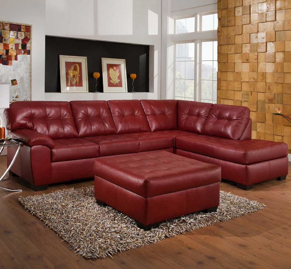 Sectional Sofa With Recliner Image
