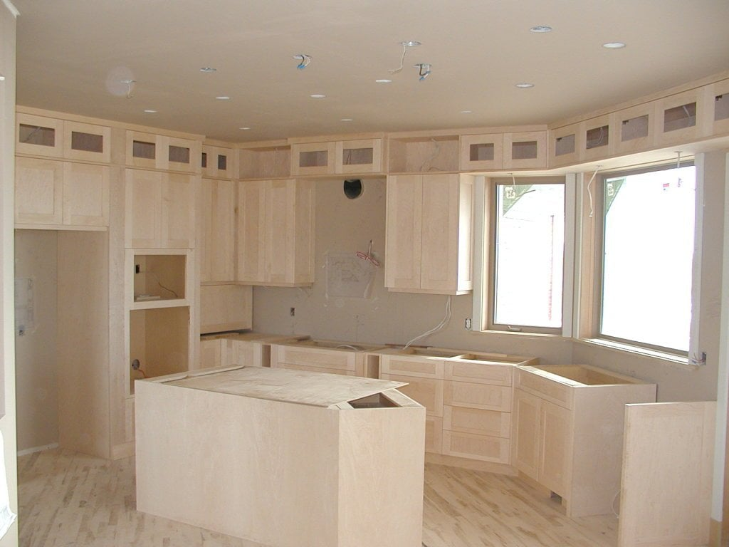 Shaker Style Kitchen Cabinets Plan