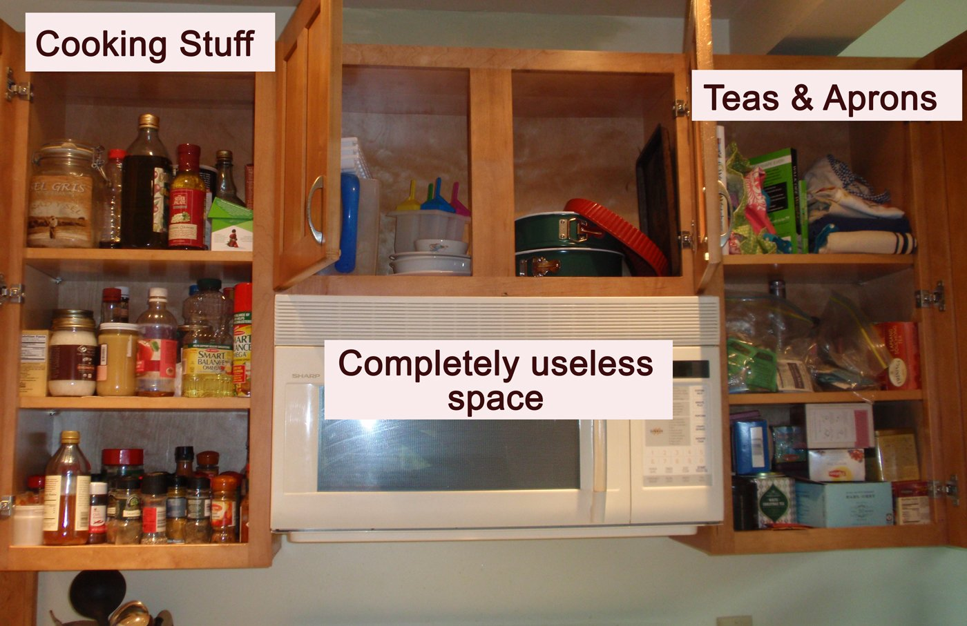 Simple Kitchen Cabinet Organizers