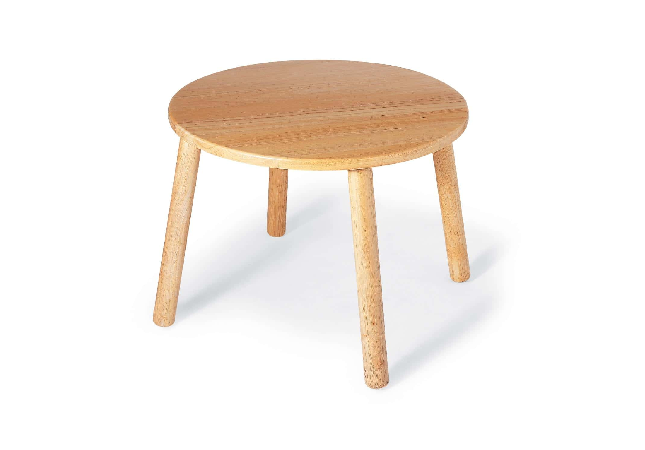 Simple Round Wood Table Tops