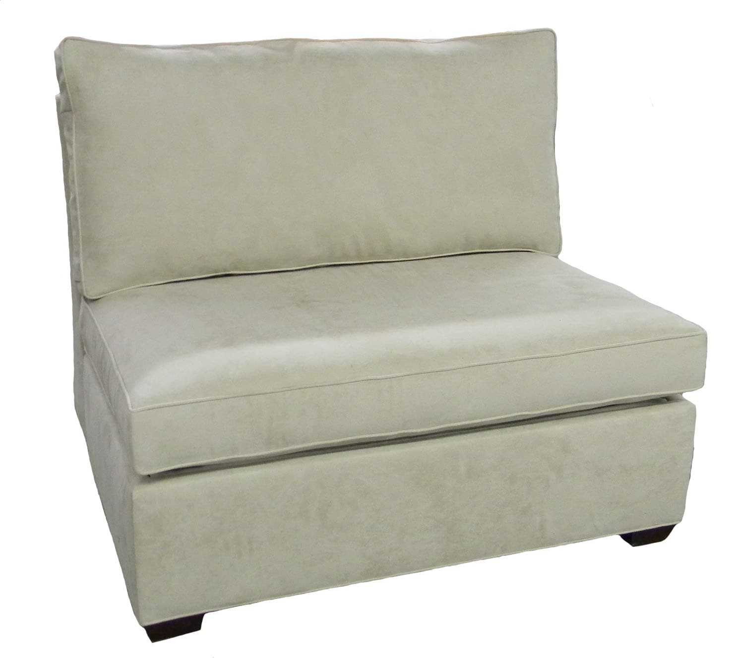 Single Armless Types Of Sofas