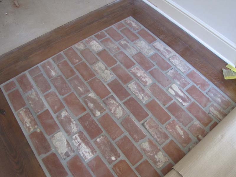 Small Brick Paver Flooring