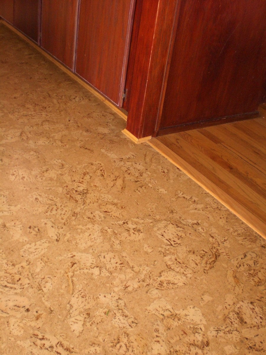Small Cork Floating Floor