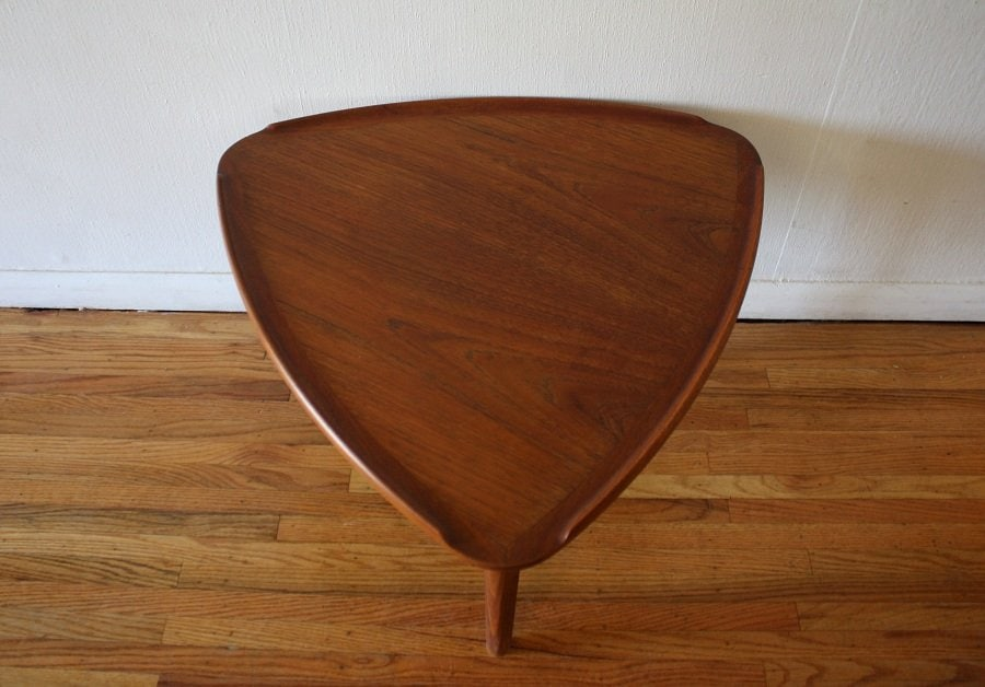 Small Triangle End Table