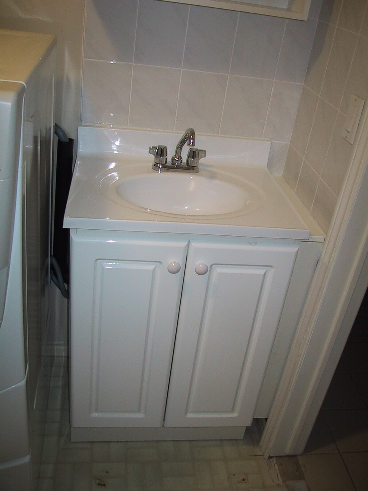 Small Utility Sink Cabinet