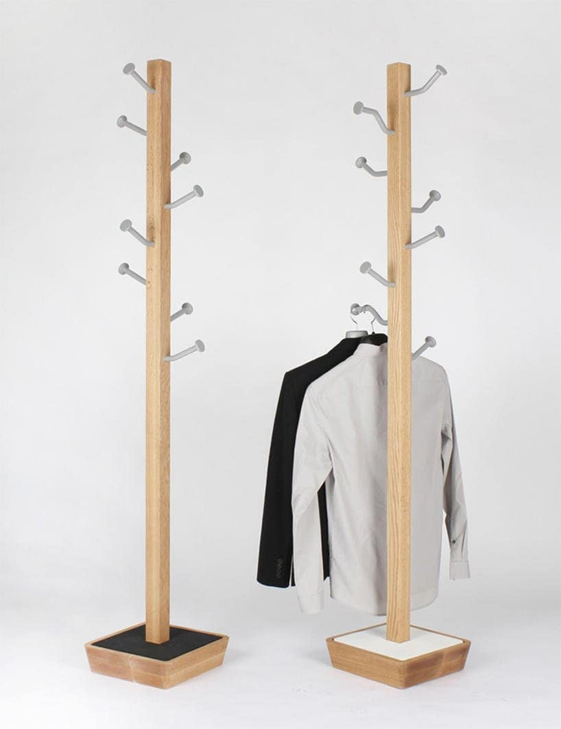 Small Wooden Clothes Rack