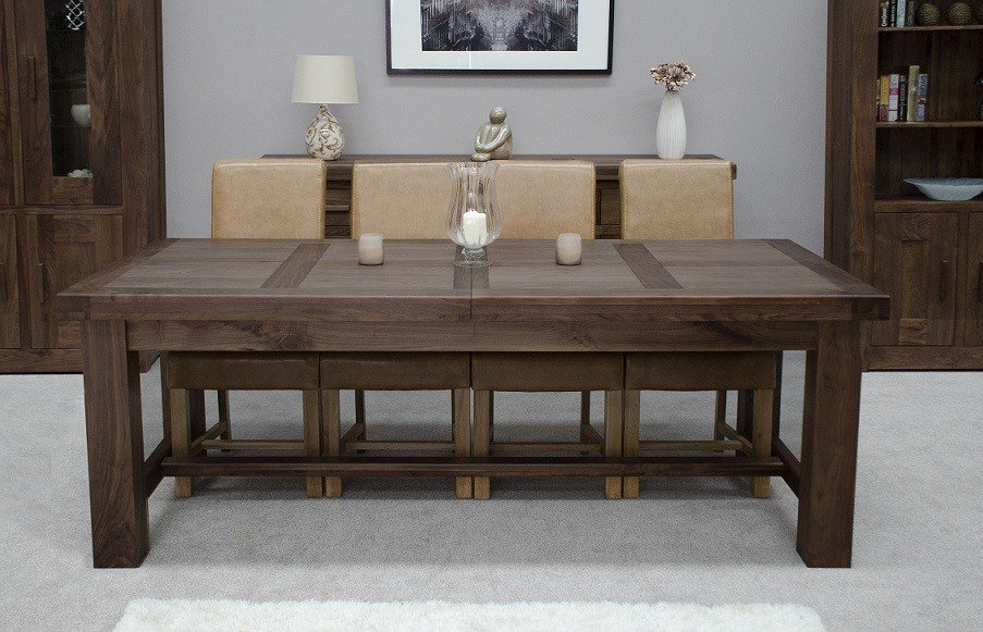 Solid Expandable Dining Table