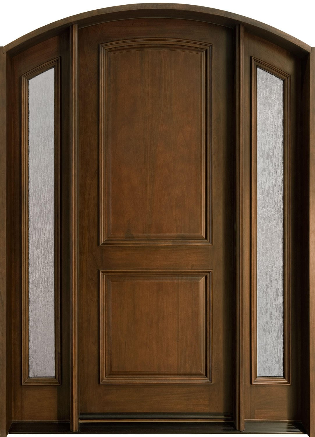 Solid Wood Exterior Doors Design