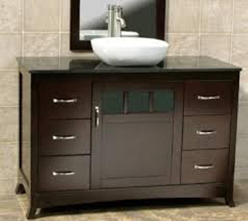 Solid Wood Vanity Set