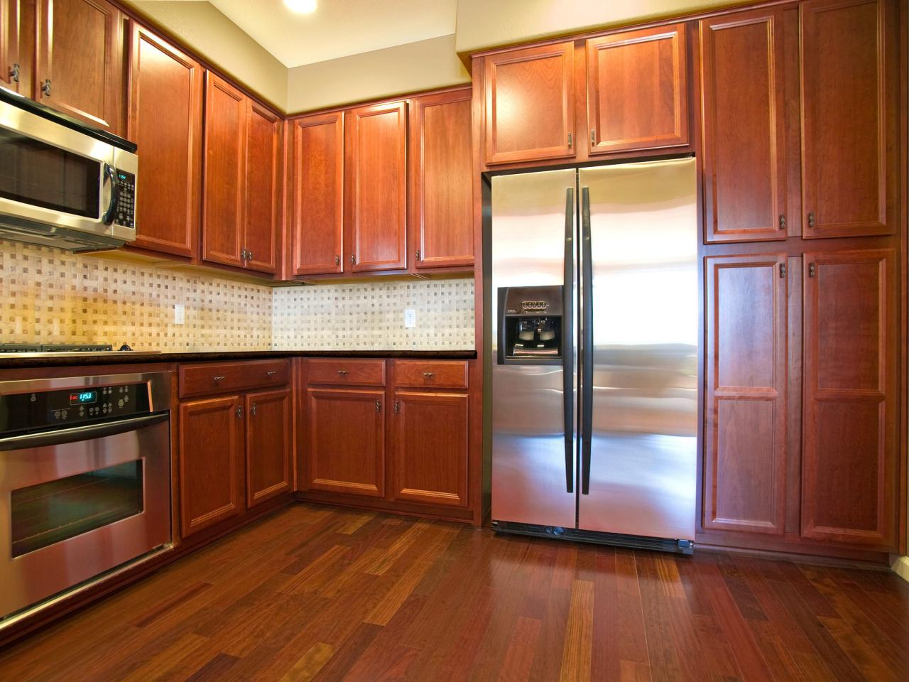 Staining Kitchen Cabinets A Lighter Color