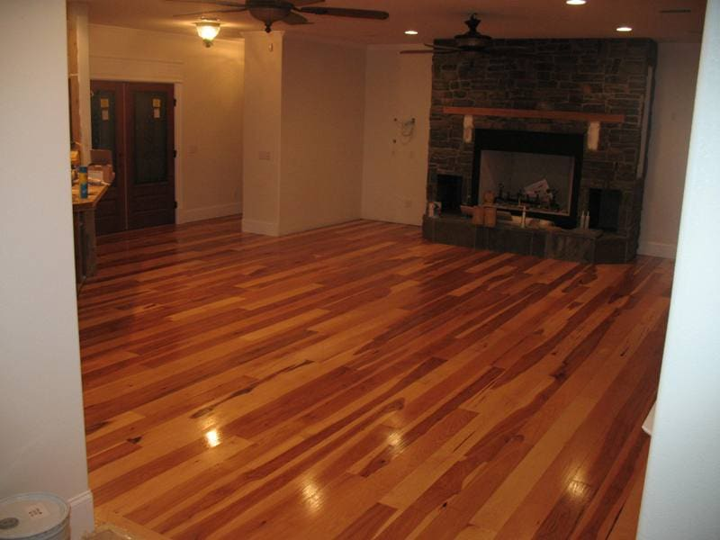 Staining Wood Floors Picture