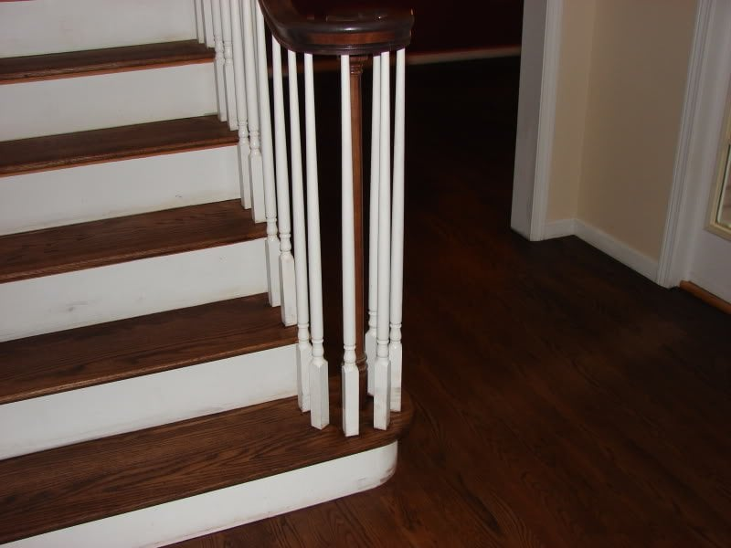 Staining Wood Floors On Stairs