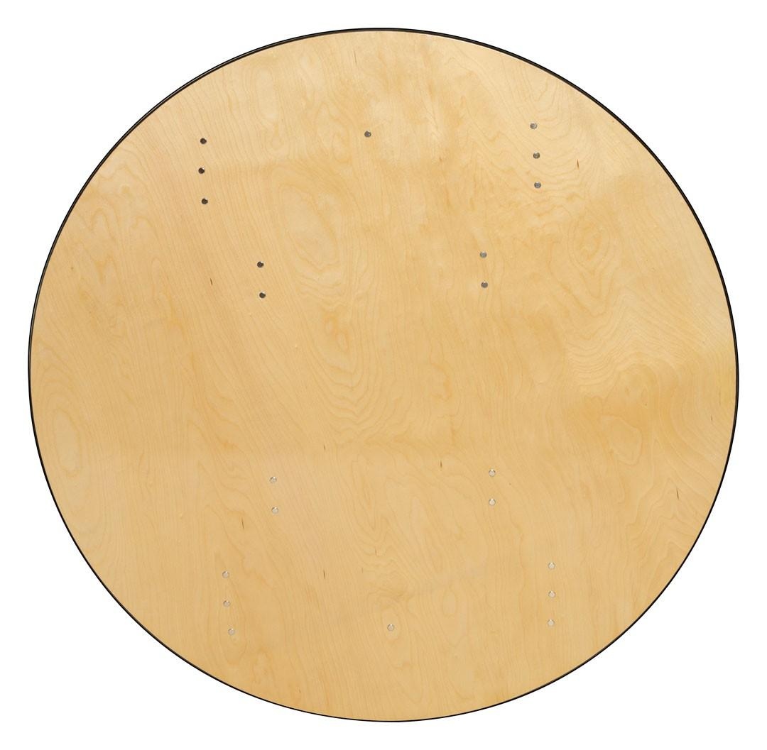 The Round Wood Table Tops