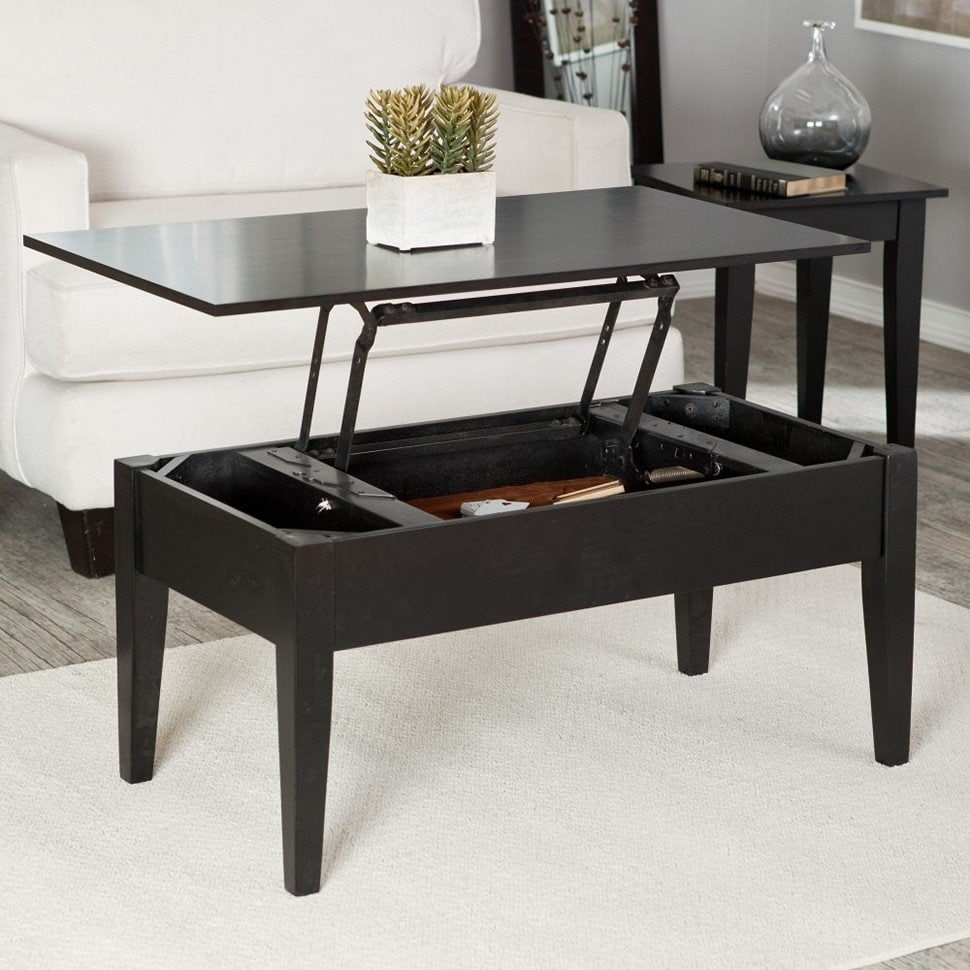 Tips Square Lift Top Coffee Table