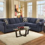 Top Navy Velvet Sofa