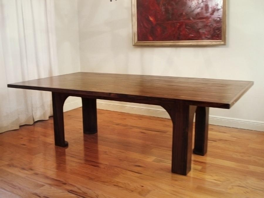 Top Salvaged Wood Dining Table