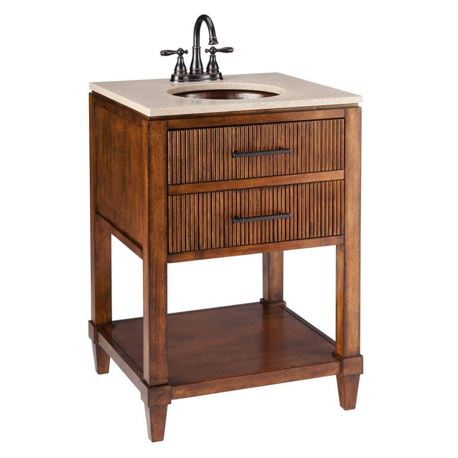 Traditional Solid Wood Bathroom Vanity