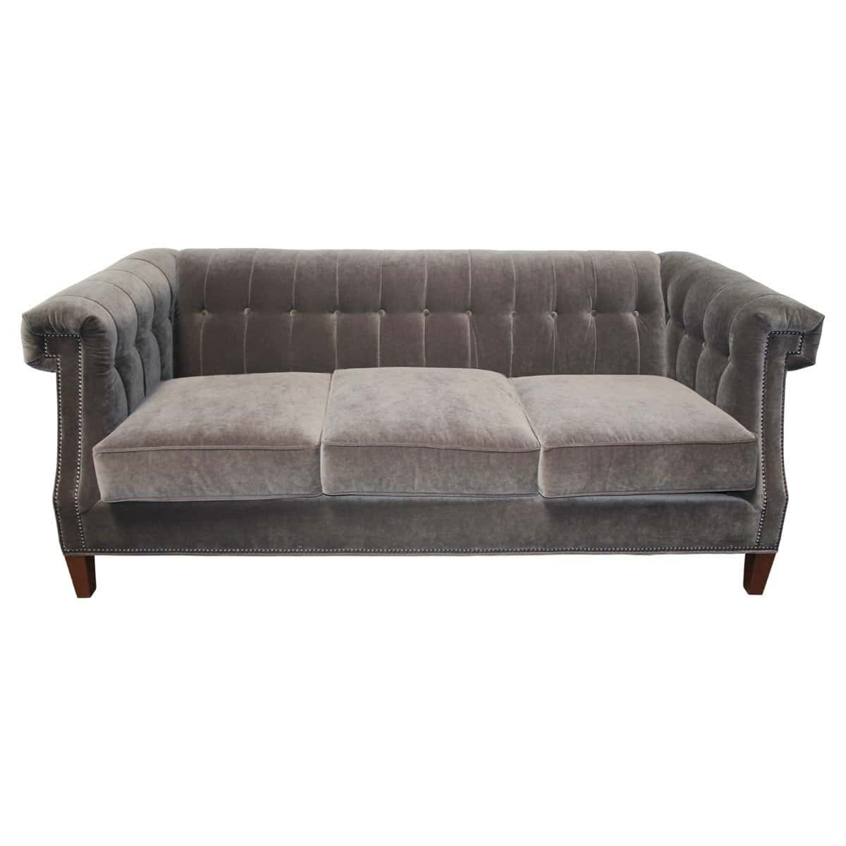 Tufted Velvet Sofa Image