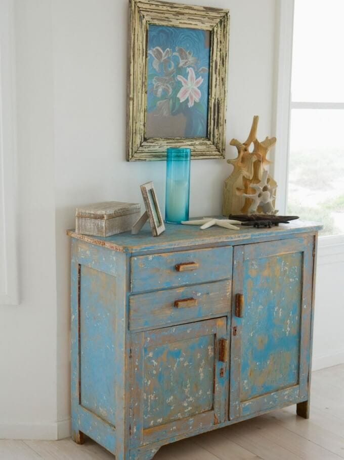 Unique Distressed Dresser