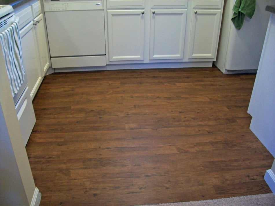 Vinyl Floating Floor In House