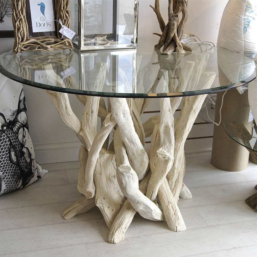 Weathered Driftwood Dining Table