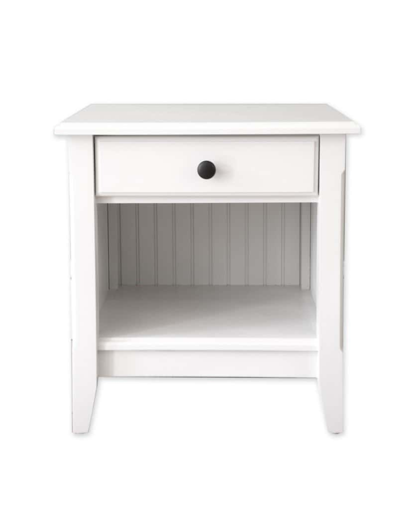 White Acrylic End Tables