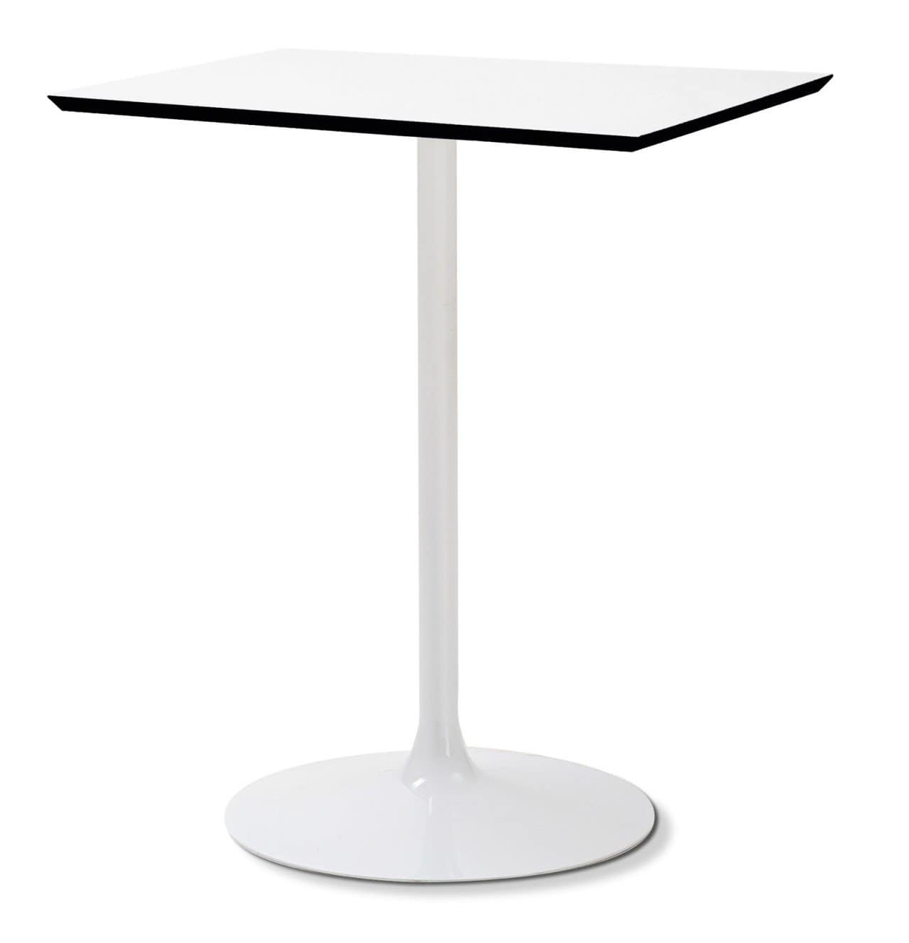 White Square Bistro Table