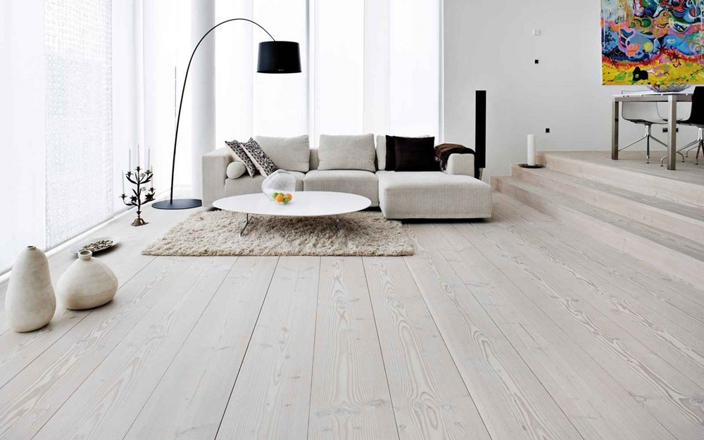 White Washed Laminate Flooring Designs