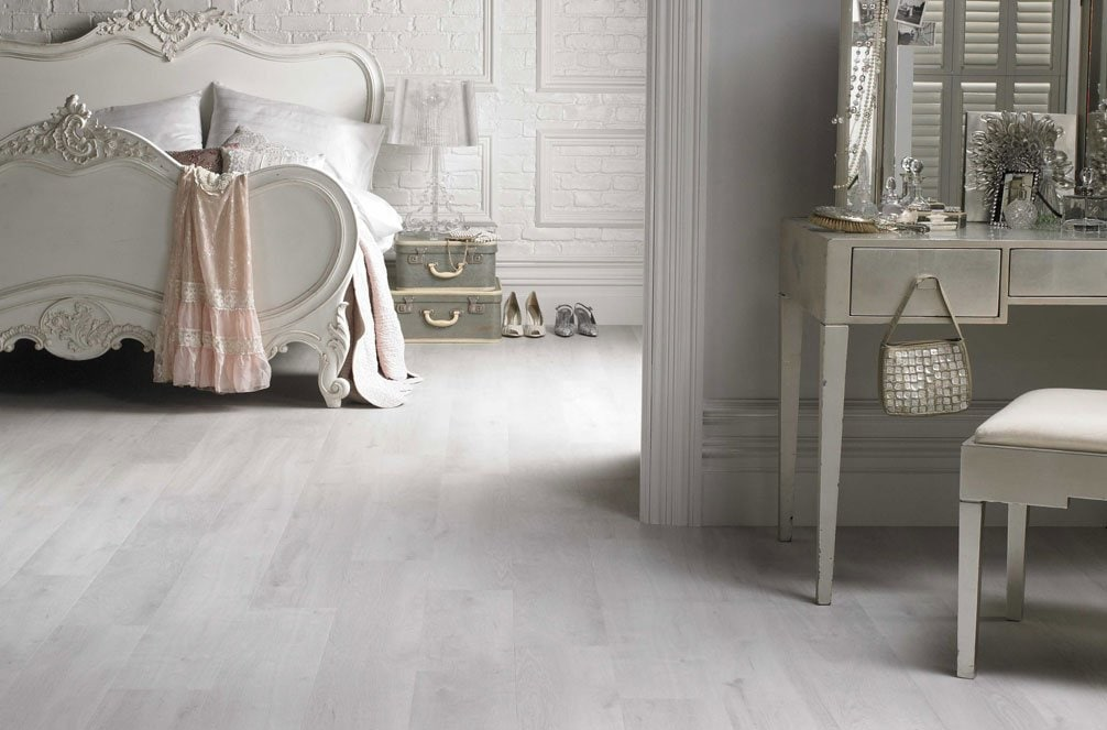 White Washed Pine Laminate Flooring