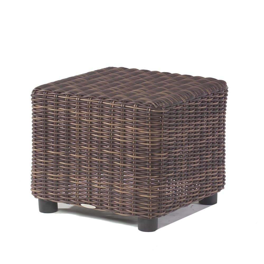 Wicker End Tables Round