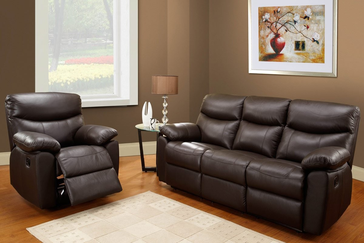 Wonderful Leather Sofa Recliner