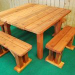 Wonderful Square Picnic Table