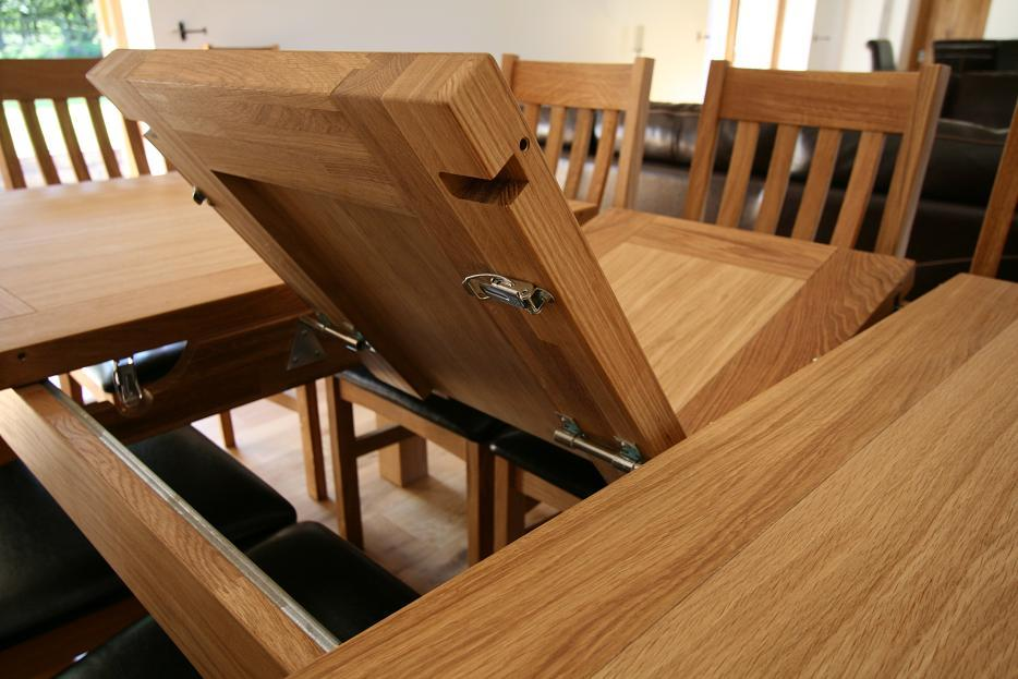Wood Extendable Dining Table