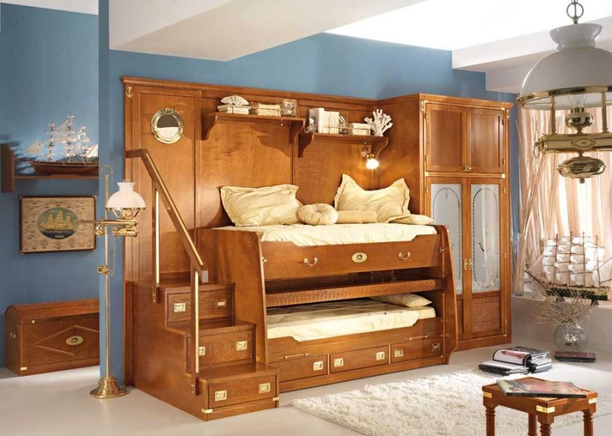 Wooden Bunk Beds Twin