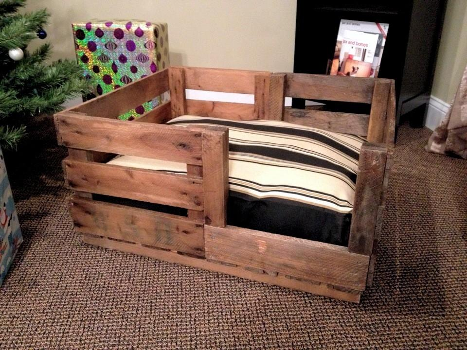 Wooden Dog Beds Plan