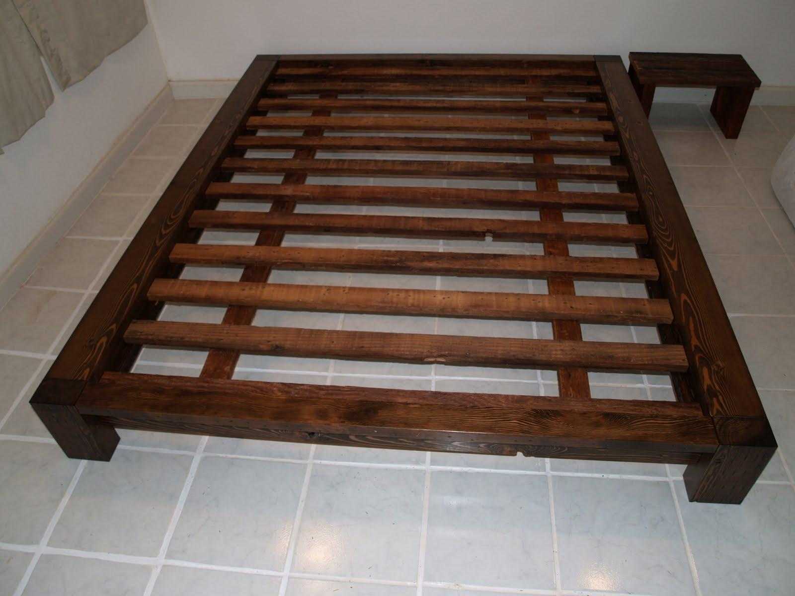 Wooden Queen Bed Frame