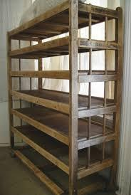 Wooden Shoe Racks Model