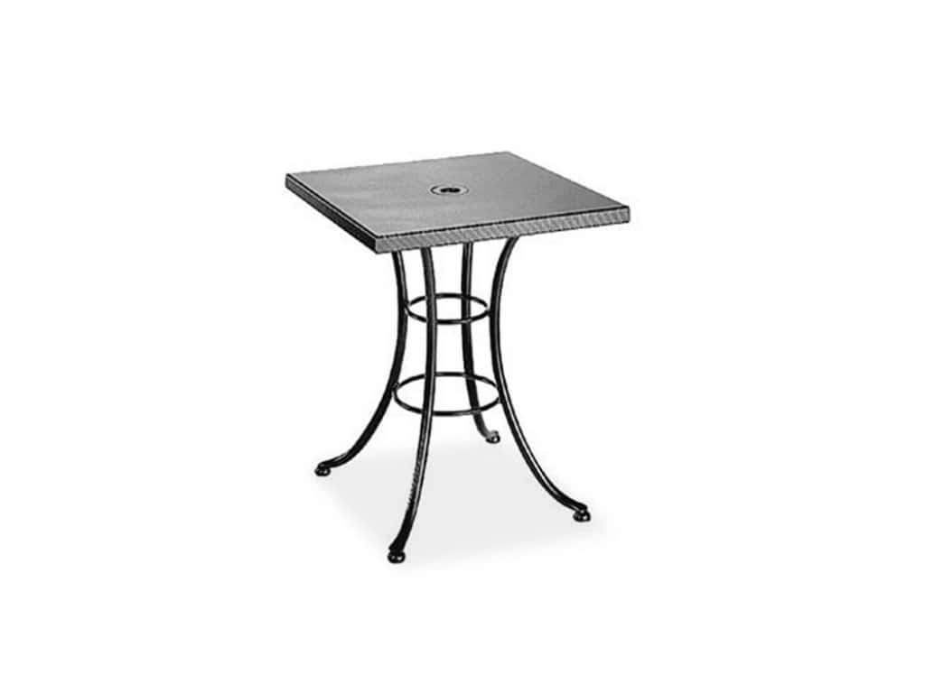 Wooden-Square-Bistro-Table