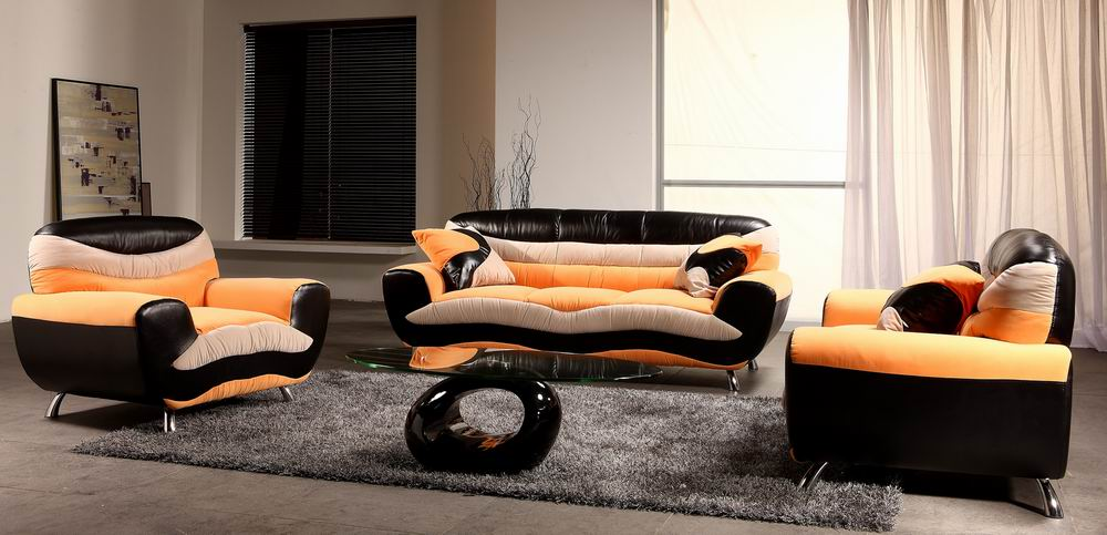 Faux Suede Couch