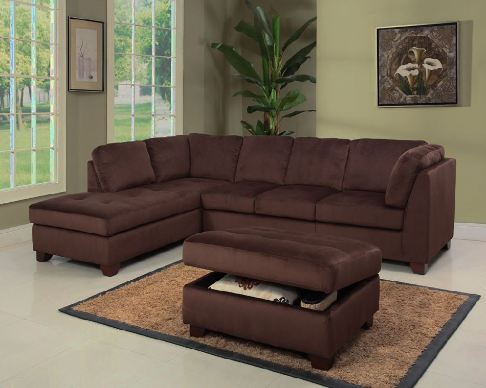 Leather Suede Couch