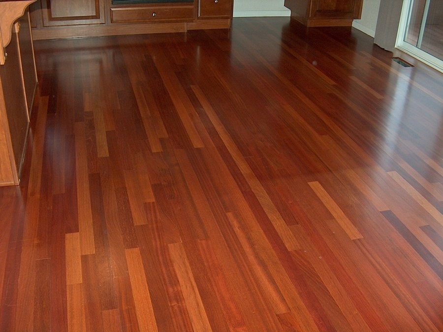 Brazilian Cherry Laminate Flooring Decorations