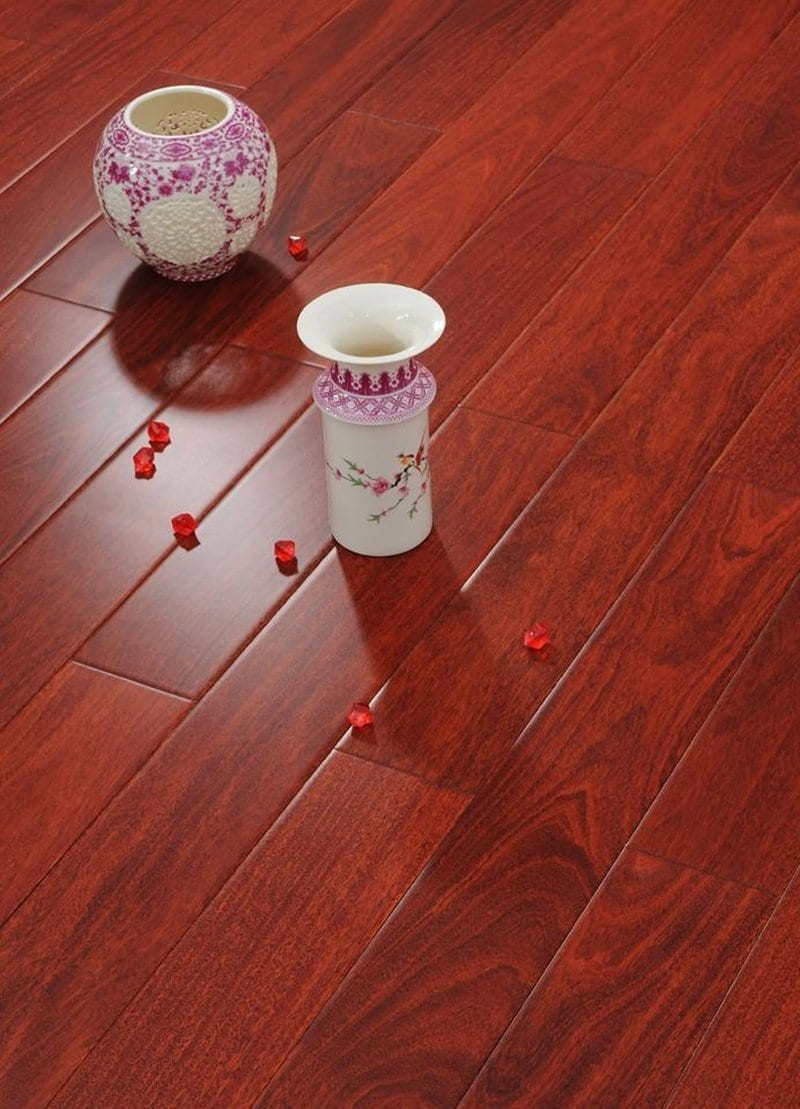 Red Brazilian Cherry Laminate Flooring