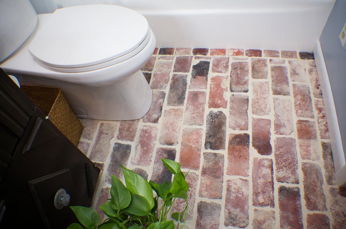 Faux Brick Flooring Mat