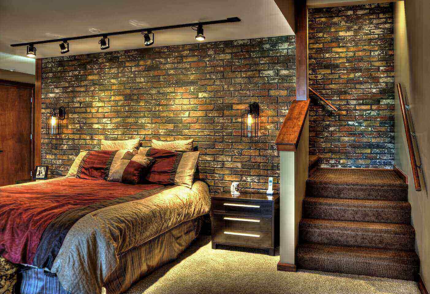 Faux Brick Flooring Panels