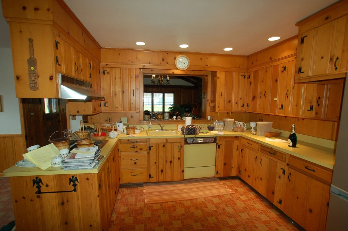 Knotty Pine Laminate Flooring Remodeling Ideas Loccie