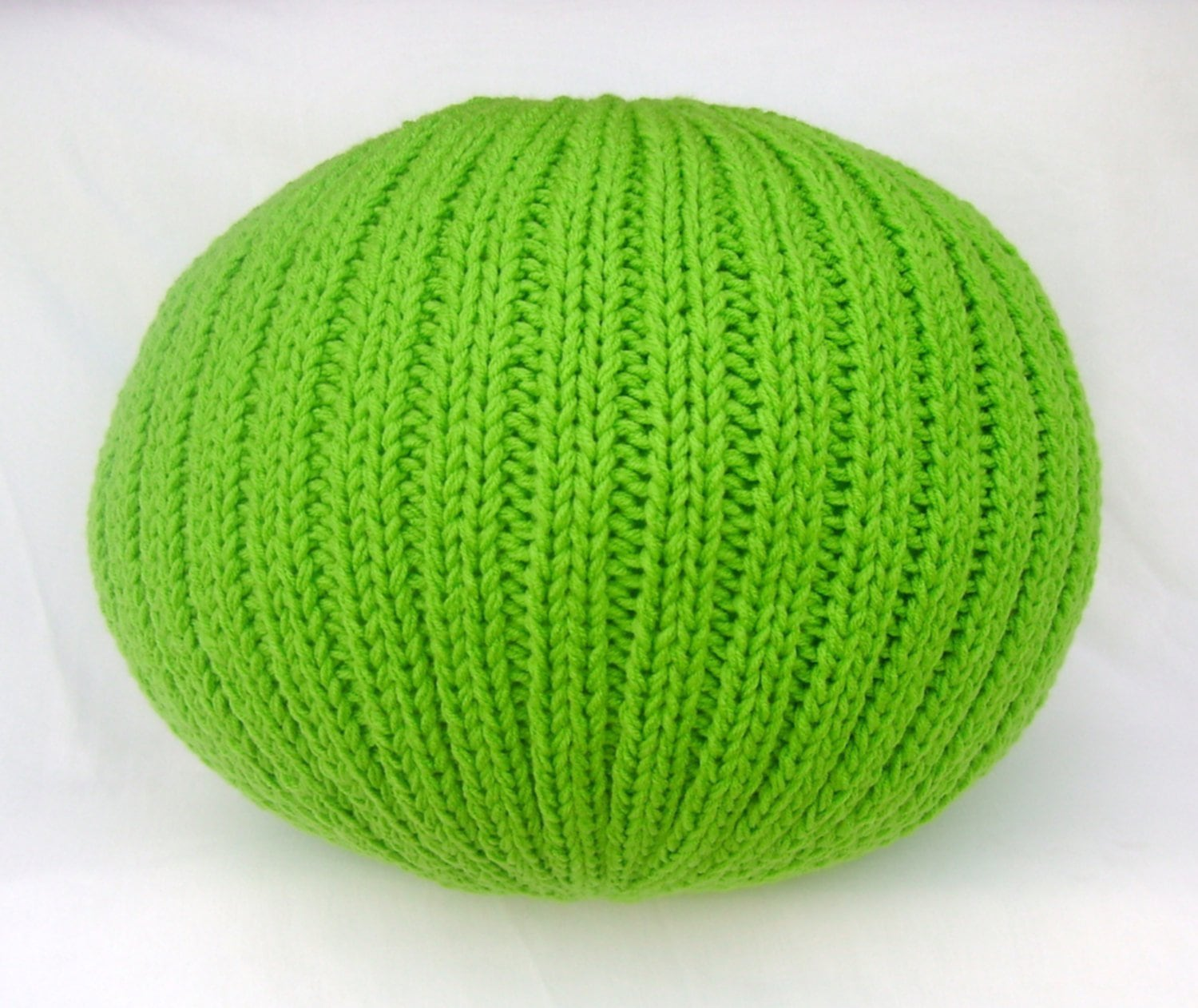 Knitted Pouf For Sale