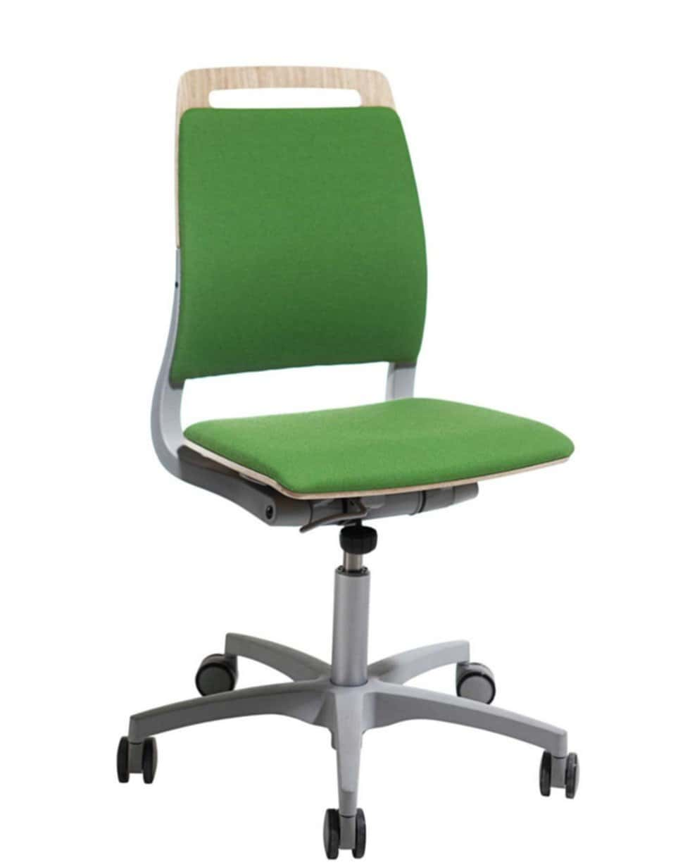 Adjustable Armless Office Chairs