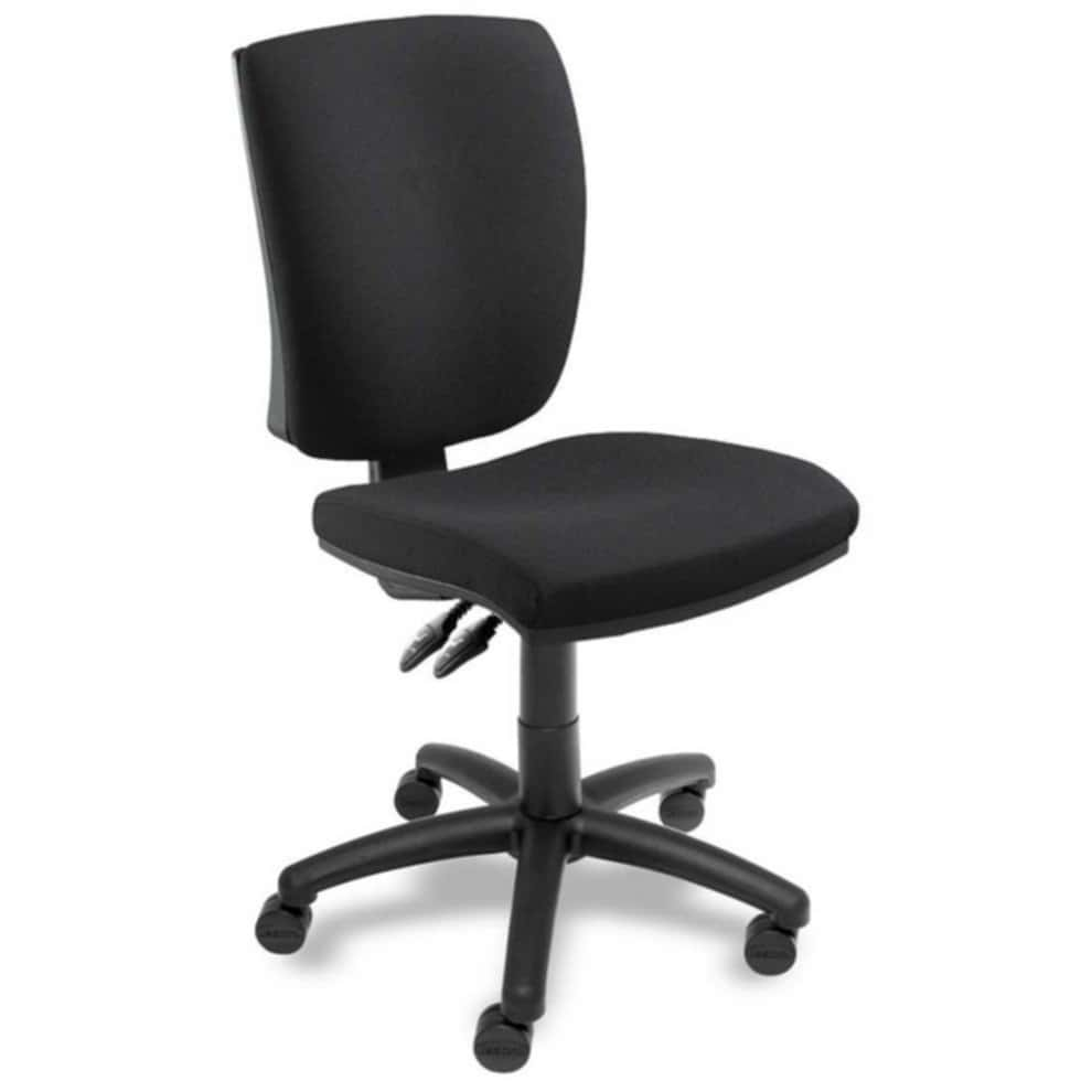 Armless Office Chairs Wheel